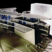 Agia Paraskevi Municipal Hall [:kinden] First Prize in the Panhellenic architectrural competition, 2003