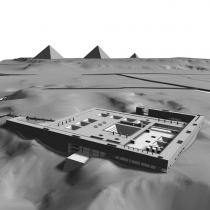 Archaeological Museum in Cairo [:kinden] Participation in International architectrural competition, 2002