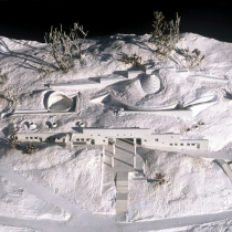 Olympic Committee conference centre in Olympia [:kinden] Honorable Mention at the Panhellenic architectural competition, 1989