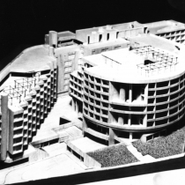 Hotel Complex M.T.P.Y., Athens [:kinden]First Prize at the Panhellenic architectural competition, 1971