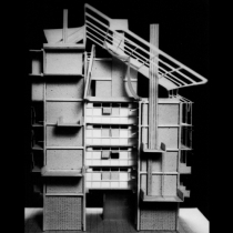 Zephyr, Passive bioclimatic design in housing complexes in Athens [:kinden] Honorable Mention at the international architectural competition, 1995